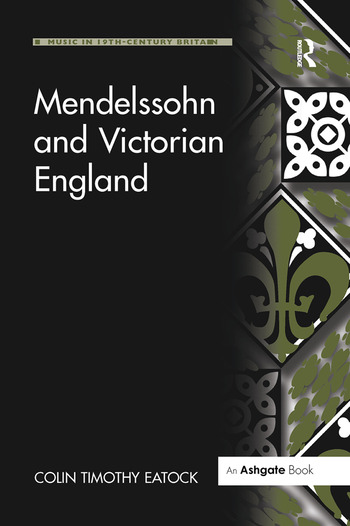 Mendelssohn and Victorian England book cover