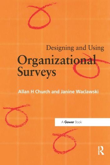 Designing and Using Organizational Surveys book cover