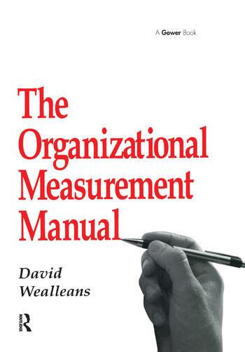 The Organizational Measurement Manual book cover
