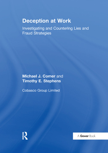 Deception at Work Investigating and Countering Lies and Fraud Strategies book cover