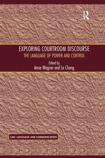 Exploring Courtroom Discourse The Language of Power and Control book cover