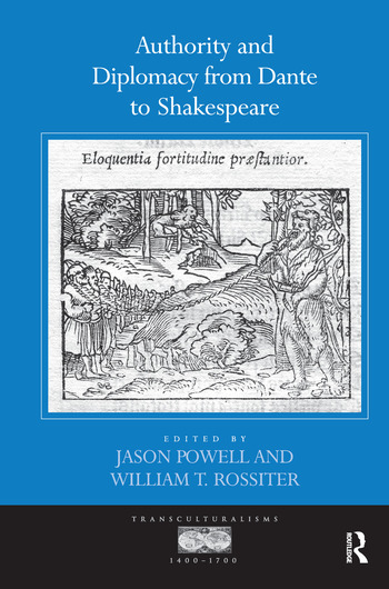 Authority and Diplomacy from Dante to Shakespeare book cover