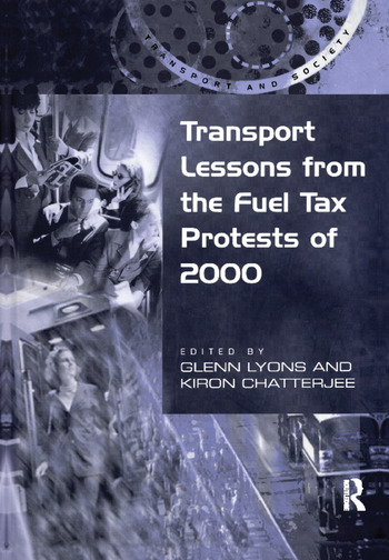 Transport Lessons from the Fuel Tax Protests of 2000 book cover