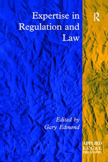 Expertise in Regulation and Law book cover
