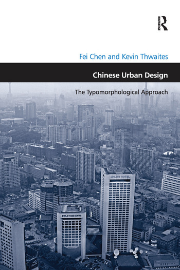 Chinese Urban Design The Typomorphological Approach book cover