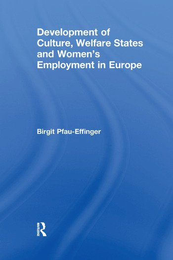Development of Culture, Welfare States and Women's Employment in Europe book cover