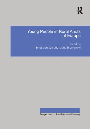 Young People in Rural Areas of Europe book cover