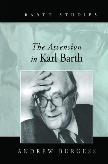 The Ascension in Karl Barth book cover