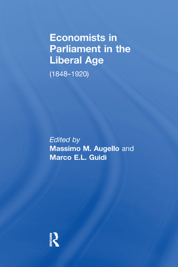 Economists in Parliament in the Liberal Age (1848–1920) book cover