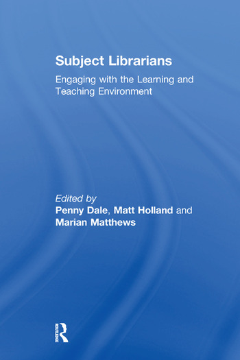 Subject Librarians Engaging with the Learning and Teaching Environment book cover