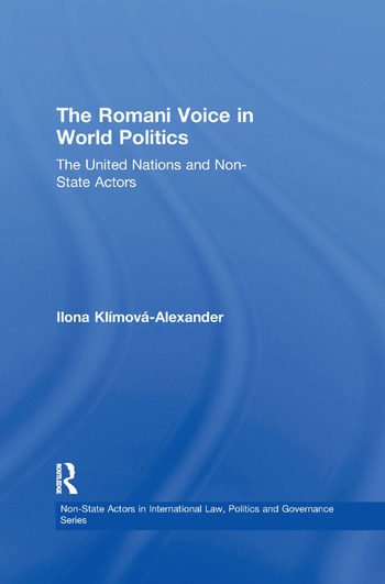 The Romani Voice in World Politics The United Nations and Non-State Actors book cover