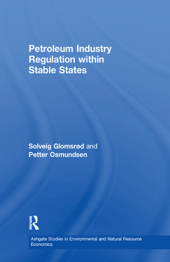 Petroleum Industry Regulation within Stable States book cover