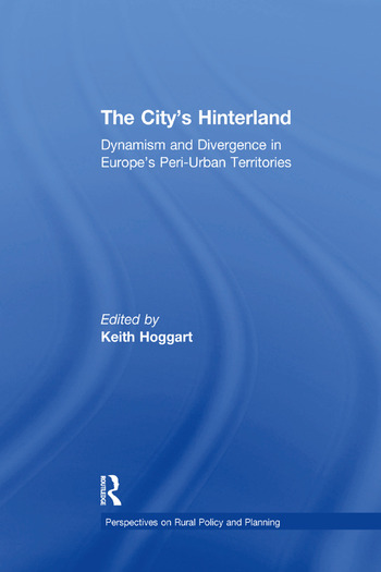 The City's Hinterland Dynamism and Divergence in Europe's Peri-Urban Territories book cover