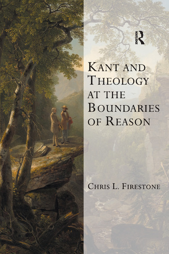 Kant and Theology at the Boundaries of Reason book cover