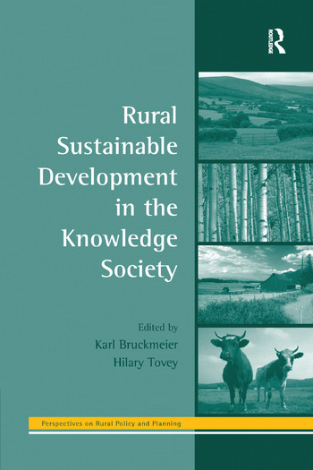 Rural Sustainable Development in the Knowledge Society book cover