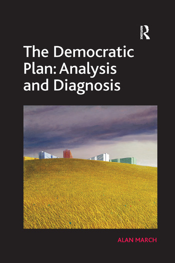 The Democratic Plan: Analysis and Diagnosis book cover