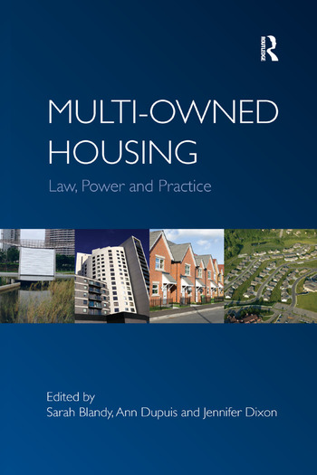 Multi-owned Housing Law, Power and Practice book cover