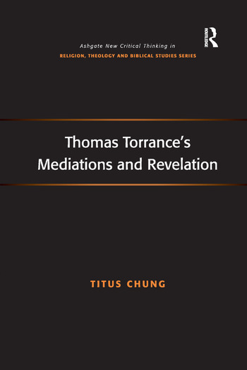 Thomas Torrance's Mediations and Revelation book cover