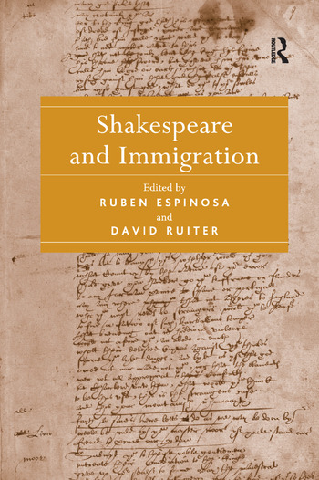 Shakespeare and Immigration book cover