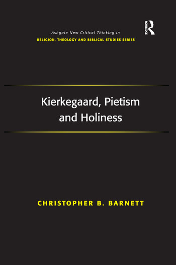 Kierkegaard, Pietism and Holiness book cover