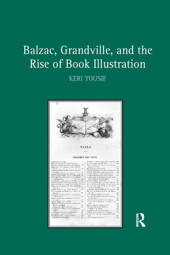 Balzac, Grandville, and the Rise of Book Illustration book cover