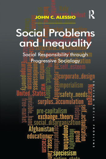 Social Problems and Inequality Social Responsibility through Progressive Sociology book cover