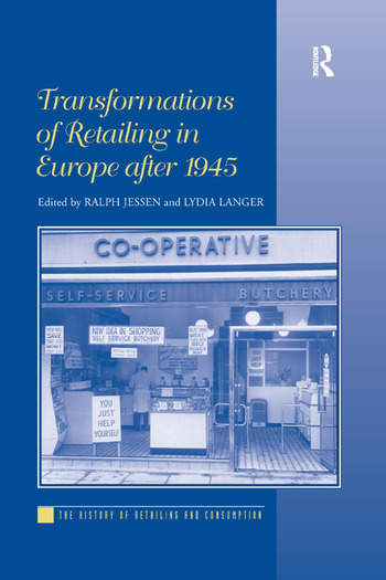 Transformations of Retailing in Europe after 1945 book cover