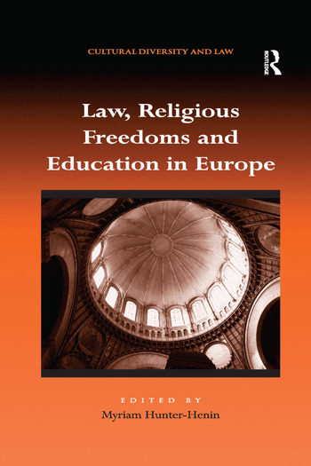 Law, Religious Freedoms and Education in Europe book cover