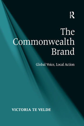 The Commonwealth Brand Global Voice, Local Action book cover