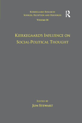 Volume 14: Kierkegaard's Influence on Social-Political Thought book cover