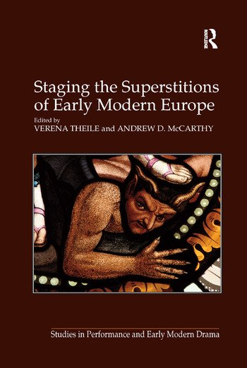 Staging the Superstitions of Early Modern Europe book cover