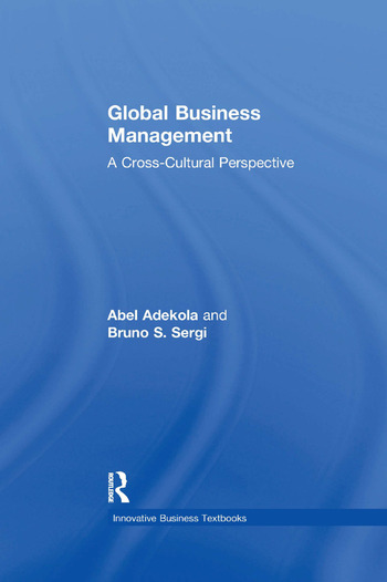 Global Business Management A Cross-Cultural Perspective book cover