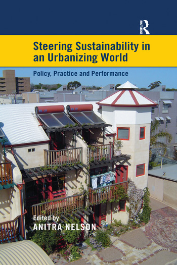 Steering Sustainability in an Urbanising World Policy, Practice and Performance book cover