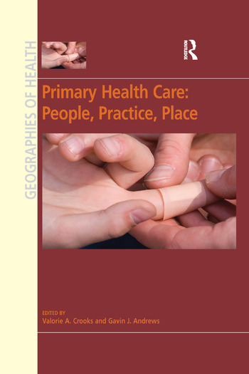 Primary Health Care: People, Practice, Place book cover