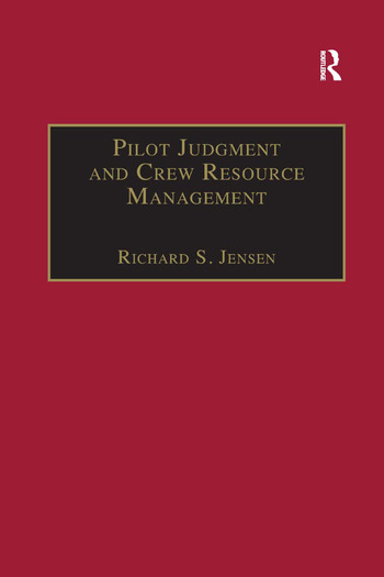 Pilot Judgment and Crew Resource Management book cover