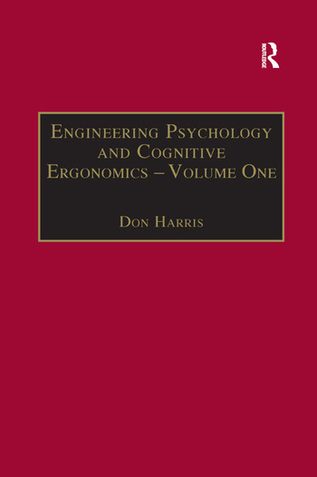 Engineering Psychology and Cognitive Ergonomics Volume 1: Transportation Systems book cover