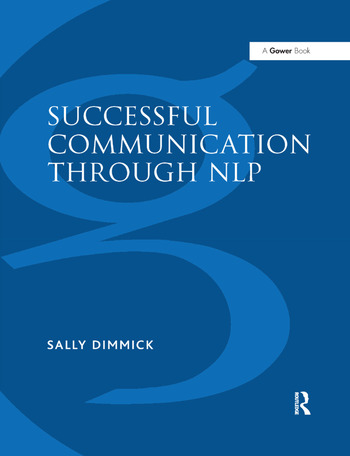 Successful Communication Through NLP A Trainer's Guide book cover