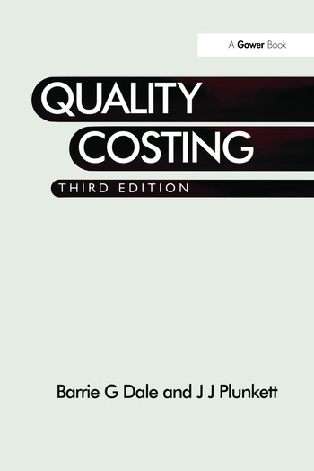 Quality Costing book cover