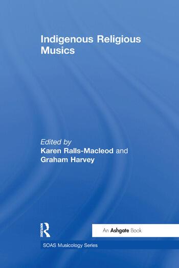 Indigenous Religious Musics book cover