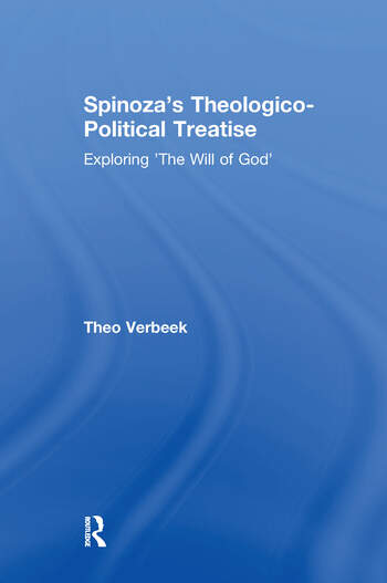 Spinoza's Theologico-Political Treatise Exploring 'The Will of God' book cover