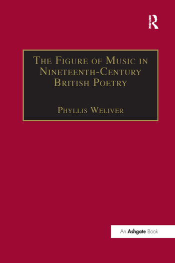 The Figure of Music in Nineteenth-Century British Poetry book cover