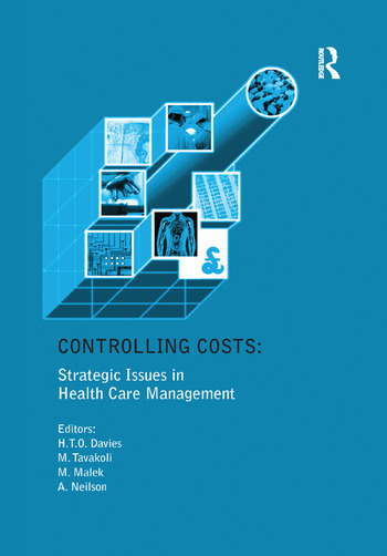 Controlling Costs: Strategic Issues in Health Care Management book cover
