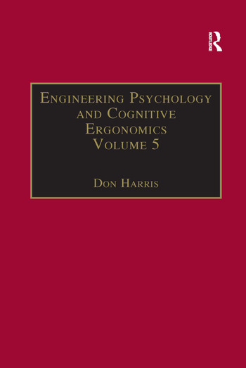 Engineering Psychology and Cognitive Ergonomics Volume 5: Aerospace and Transportation Systems book cover