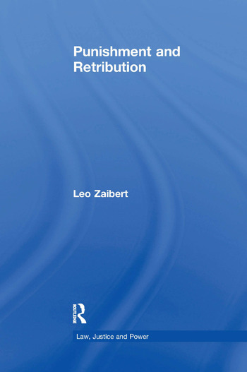 Punishment and Retribution book cover