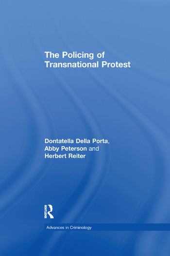 The Policing of Transnational Protest book cover
