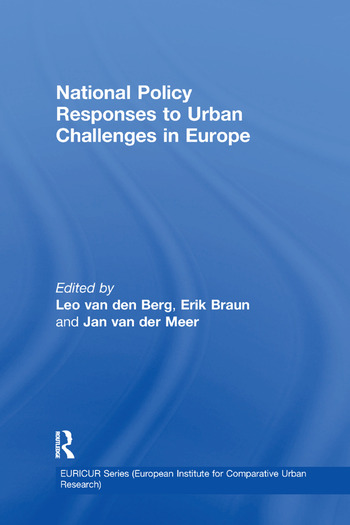 National Policy Responses to Urban Challenges in Europe book cover