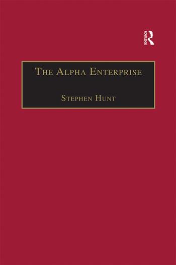 The Alpha Enterprise Evangelism in a Post-Christian Era book cover