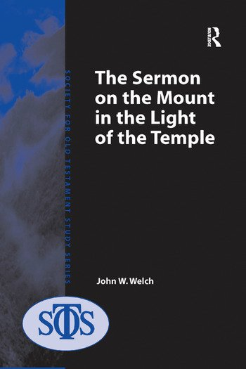 The Sermon on the Mount in the Light of the Temple book cover