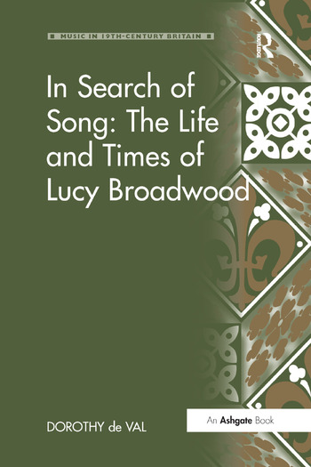 In Search of Song: The Life and Times of Lucy Broadwood book cover