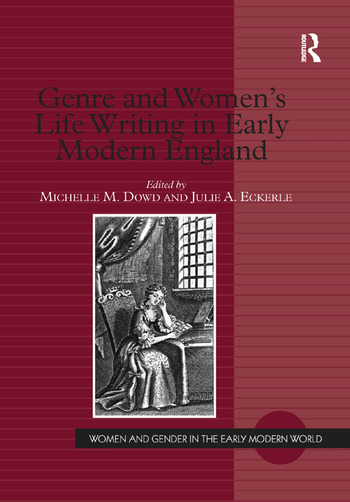 Genre and Women's Life Writing in Early Modern England book cover